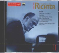 S.Richter plays music of J.S.Bach