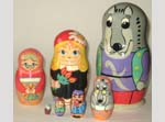 Little Red Riding Hood Matreshka