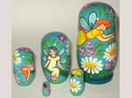 Fairies Russian nesting dolls